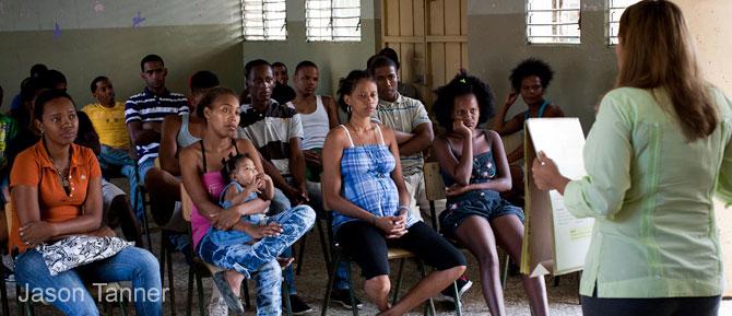 Proyecto de Muchachos y Muchachas por mi Barrio Vivo